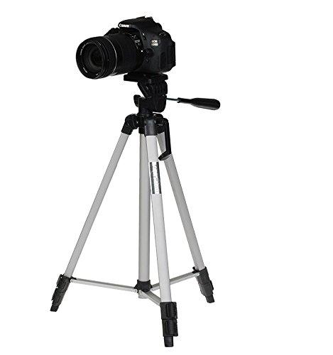 53'' Camera Tripod Mount Holder Stand for Logitech Webcam C925e C922x C922 C930e C930-Silver by AceTaken (Image #8)
