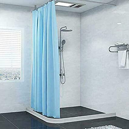 Glomixs - Tiras Flexibles de Silicona para repeler el Agua, Sistema de Barrera de Ducha y retención y Sistema de retención de Agua en el Interior, barreras para el Agua de la