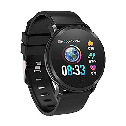 BingoFit Vito Fitness Tracker Smart Watch Waterproof Activity Tracker with Heart Rate Blood Pressure Monitor Sleep Monitor Pedometer Watch Step Tracker Calorie Counter for Kids Women Men IOS Android Estimated Price £39.99 -