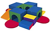 ECR4Kids SoftZone Tunnel Maze Climber