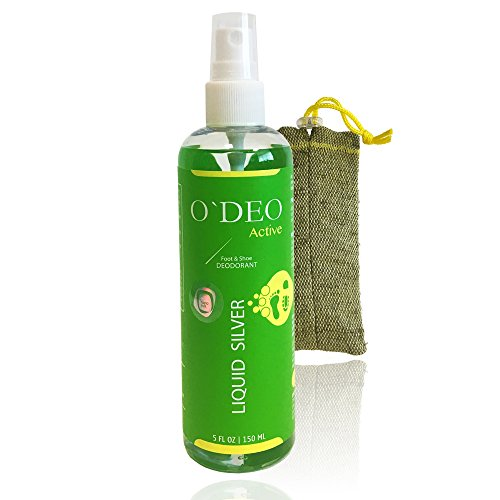 Foot spray & Shoe Deodorizer – Natural Organic athletes foot spray – Ideal Feet, Socks, Casual or Sports Shoe Deodorizer & Disinfectant – Prevent & Fights Fungi