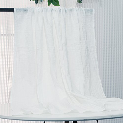 White Muslin Baby Swaddle Blanket - 100% Organic Cotton Perfect for Swaddling and Nursering - Breathable Soft Cover and Wrap and Crib Muslin Blanket - Best Gift for Kids - - Blanket White Organic