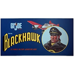 GI JOE BLACKHAWK FIGURE DELUXE BOX SET -RARE ONLY 2000 EVER MADE