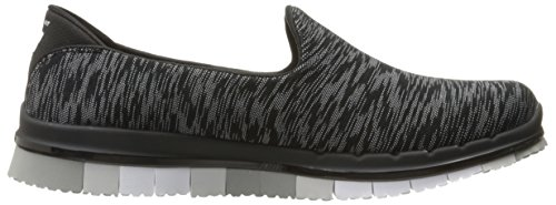 Go Black Skechers Donna Flex White Multi Sneaker zdqw0qT