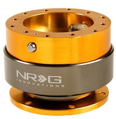 NRG Steering Wheel Quick Release Kit - Gen 2.0 - Rose Gold - Part # SRK-200RG
