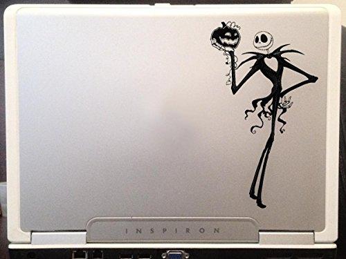 Jack Skellington Nightmare before Christmas Halloween car truck window laptop decal sticker 6 inches black