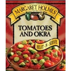 Margaret Holmes, Tomatoes & Okra, 14.5oz Can (Pack of 6)