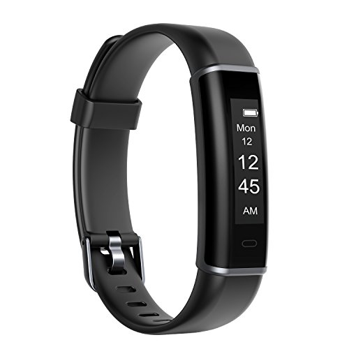 Letsfit Fitness Tracker, Slim Activity Tracker, Pedometer Watch, Sleep Monitor, Step Counter, Calories Counter, IP67 Waterproof Smart Fitness Band for Kids Women Men