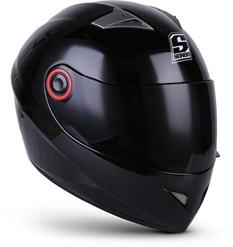 """SOXON® ST-666 """"Deluxe Titan"""" · Integral-Helm · Full-Face Motorrad-Helm Roller-Helm Scooter-Helm Cruiser Sturz-Helm…"""