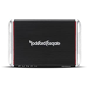 Rockford Fosgate PBR400X4D Rockford Fosgate PBR400X4D Punch Compact Chassis Amplifier