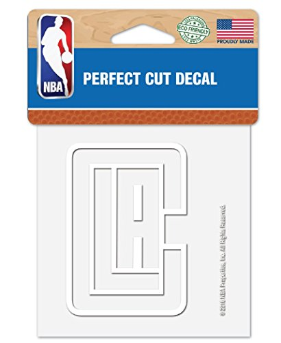 Clippers Decal - WinCraft NBA Los Angeles LA Clippers 4