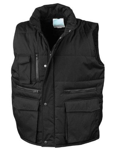 Result Workguard Gilet Bodywarmer schwarz 3XL [Textilien]