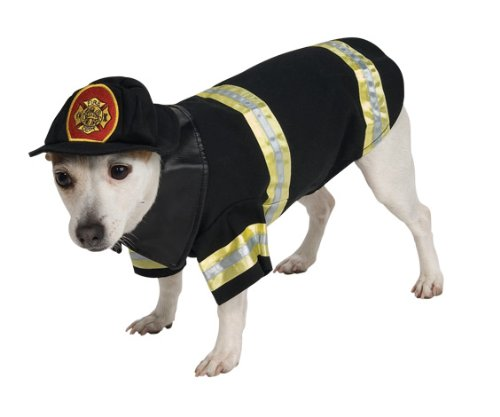 Fire Dog Costume (Rubie's Pet Costume, Medium, Fire Fighter)