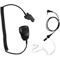 Maxtop APM100ARP25-M7 Light Duty Shoulder Speaker Microphone for Motorola with Receiving Only Earphone