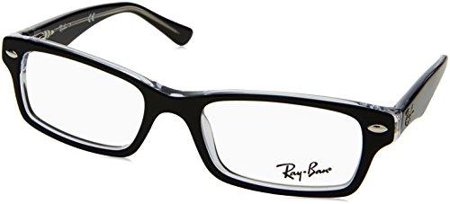 Ray Ban Junior RY1530 Eyeglasses-3529 Top Black on - Ray Ban Frames Jr