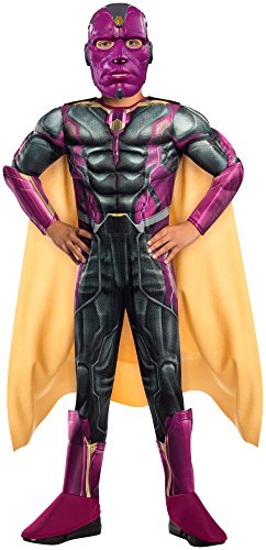 [Rubie's Costume Avengers 2 Age of Ultron Child's Deluxe Vision Costume, Medium] (Child Avengers 2 Deluxe Ultron Costumes)