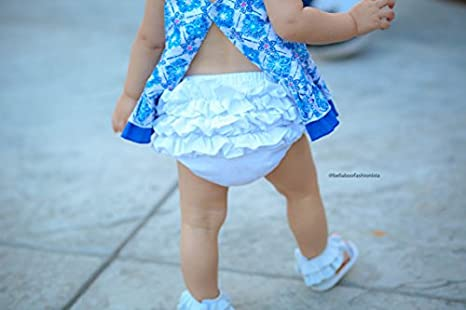 muyan Baby Girls Cotton Shorts and Diaper Cover Bloomers Shorts+Headband in Set