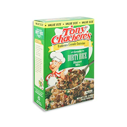 (Pack of 12) Tony Chacheres Dirty Rice Rice Mix, 5oz