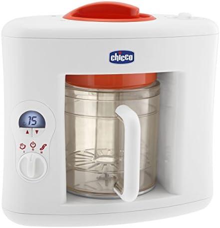 Chicco Sano Vapor 06560 - Cocinero, color blanco/rojo: Amazon.es: Bebé