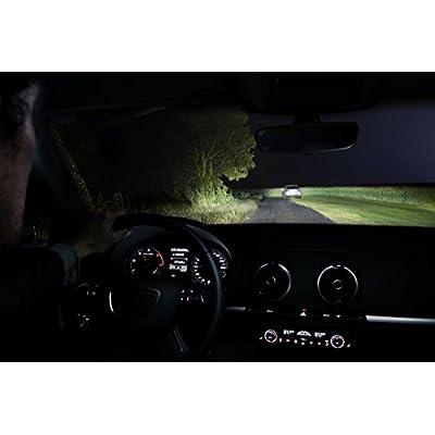 Philips RacingVision H7 Headlight Bulbs (Twin) 12972RVS2 Xtreme Vision Upgrade: Automotive