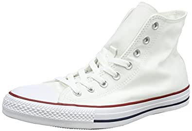 Converse Unisex Chuck Taylor All Star Low Top Optical White Sneakers - 5 B(M) US Women / 3 D(M) US Men