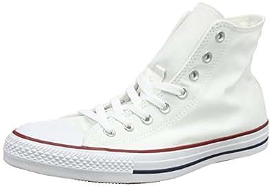 Converse Unisex Chuck Taylor All Star Core Hi Optical White, 12.5 B(M) US Women/ 10.5 D(M) US Men