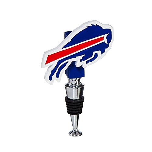 Team Sports America Buffalo Bills Hand-Painted Team Logo Bottle Stopper