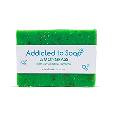 Addicted to Soap – Pine Tar Soap | Mens Soap Bar – Black Soap with Natural Organic Olive & Coconut Oils – Best Soap for Men Guaranteed Handmade in Texas Body Hand Soap Bar