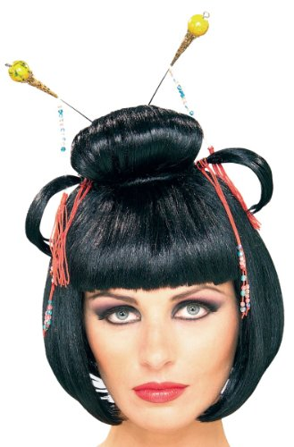 Geisha For Halloween (Geisha Asian Lady Costume Wig)