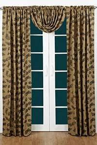 pine cone curtain rod 7