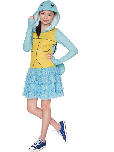 Rubie's Costume Pokemon Squirtle Child Hooded Costume Dress Costume, Large]()