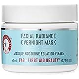 First Aid Beauty Facial Radiance Overnight Mask, Blue, 1.7 Fluid Ounce