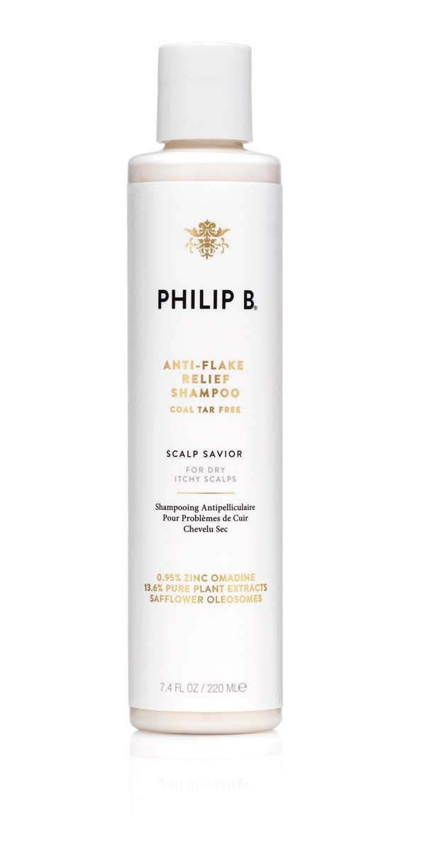 Philip B Anti-Flake Relief Shampoo (Coal Tar-Free) 7.4 Ounces by PHILIP B.