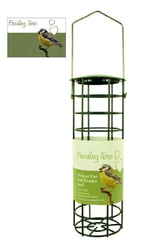 Balls Bird Fat Wild (Rosewood (Feeding Time) Wild Bird Deluxe Fat Ball Feeder Copper Finish Small)