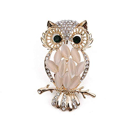 AMind Air Freshener Car Perfume Cute Owl Diamond Car Aromatherapy Essential Oil Diffuser Locket with Vent Clip and Best Car Perfumes Best Home Decoration Car Decoration (Owl No.1)