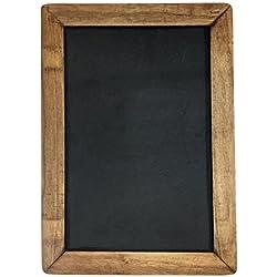 """Vintage Framed Chalkboard, 10"""" x 14"""""""