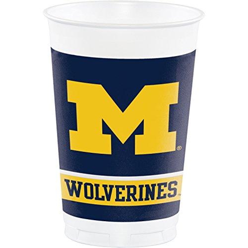 University of Michigan Plastic Cups, 24 ct]()