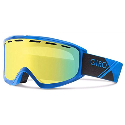 Giro 2018 Index OTG Ski Goggle - Blue SportTech Frame/Yellow Boost Lens - 7083051 - Giro Index Otg Snow Goggles