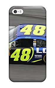 High-end Case Cover Protector For Iphone 5/5s(jimmie Johnson)(3D PC Soft Case)