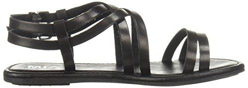 MIA Women's Thunder Flat Sandal Black QuSaiQwC