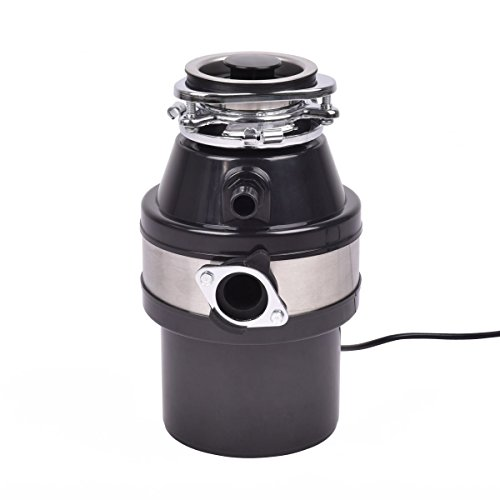 1.0HP 2600RPM Garbage Disposal Continuous Feed Home Kitchen Food Waste Disposer by allgoodsdelight365