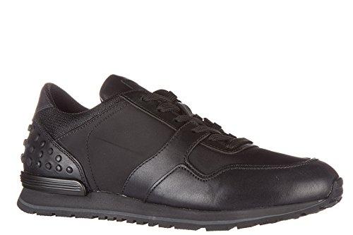 Schwarz Herrenschuhe dots Schuhe allacciate Sneakers Herren Tods Leder spoiler OdxY88q