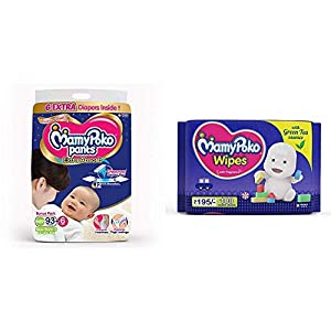 MamyPoko Pants Extra Absorb Diapers,...