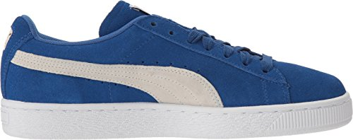Sneaker da donna classica in pelle scamosciata WN'S, True Blue-Puma White, 6.5 M US