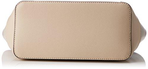 Guess Shopper Kamryn, Borsa a Spalla Donna, 15x26.5x42 cm (W x H x L) Multicolore (Stone Multi)