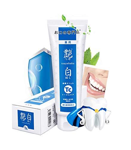 Total Care Antigingivitis SLS Free Toothpaste with Fluoride for Gum Disease, Mint, 80g