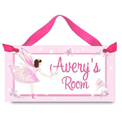 ls Bedroom and Baby Nursery Kids Bedroom DOOR SIGN Wall Art DS0314 ()