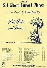 24 Short Concert Pieces Flute Part