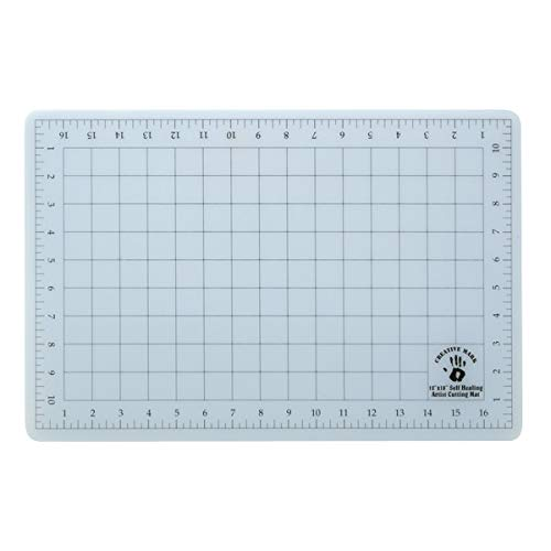 (Creative Mark 12x18 Professional Self Healing Cutting Mat for Home Office & Studio Without Harming Your Desk Studio Design Lightbox Shop Craft & Hobby Use - [12x18