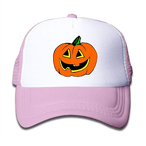Halloween Pumpkin Clipart On Boys and Girls Trucker Hat, Youth Toddler Mesh Hats Baseball -